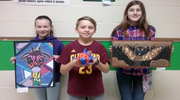 Students Present Artwork