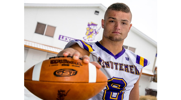 Cade S. Named Mr. Football, DPOY and 1st Team All-Ohio