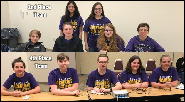 Junior High Academic Challenge Teams