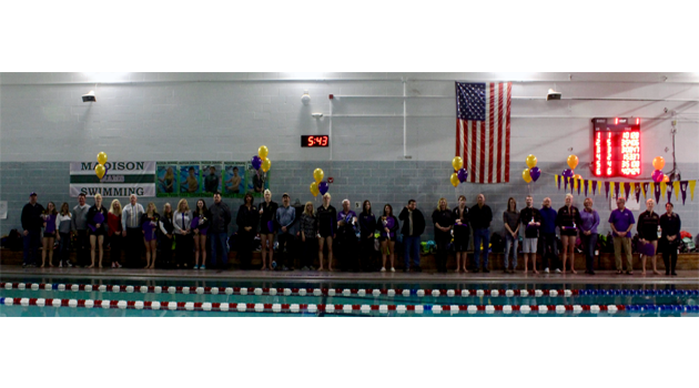 Swim Team Senior Recognition Night