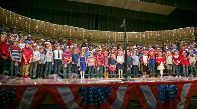 Central and Western Veterans Day Program