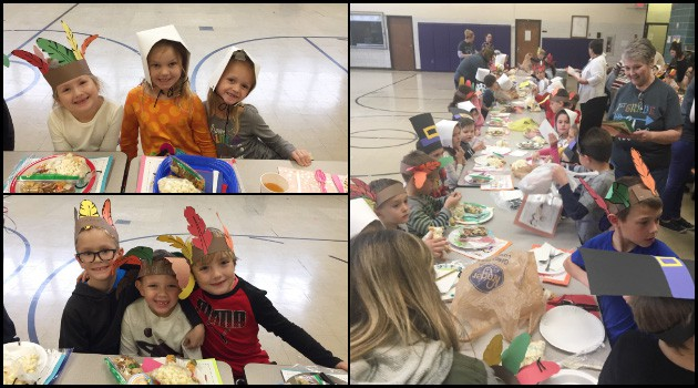 First Grade Friendsgiving
