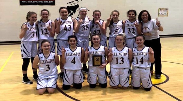 8th Grade Girls Basketball OCC Champions