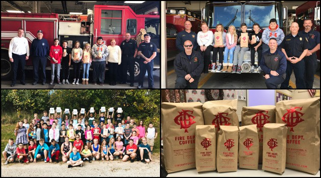 Eastern Coffee Drive for Firefighters