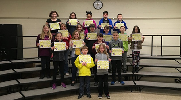 January Character Award Winners