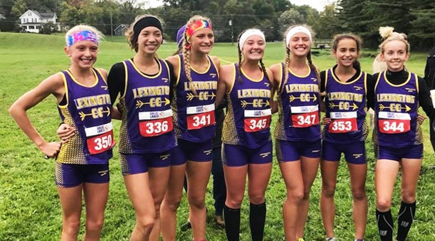 Girls' Cross Country Team 2018 OCC Champions