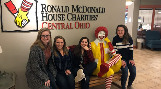 Key Club Collected Pop Tabs for Ronald McDonald House Fundraiser
