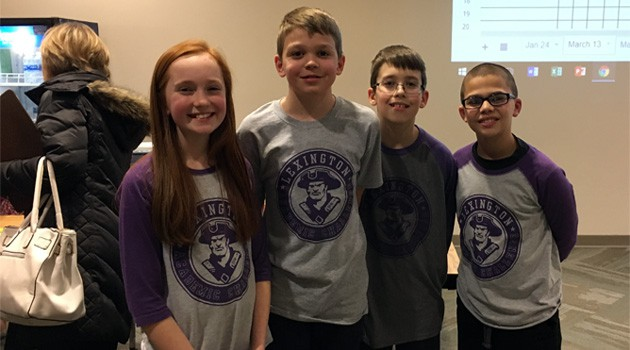 5th Grade Academic Challenge Team Earns First Place