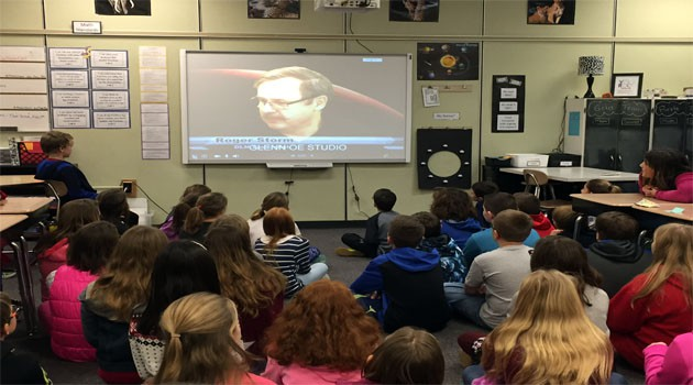 Skype Session with NASA