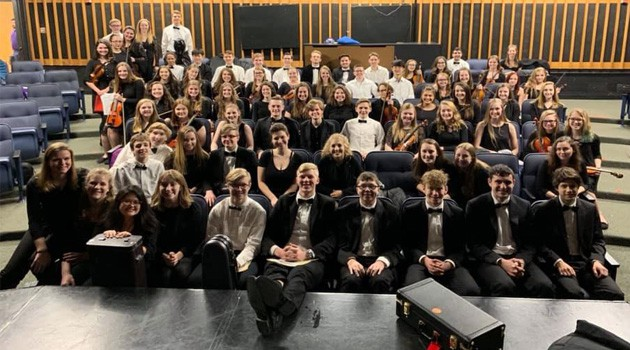 HS Orchestra Receives Straight 1s at OMEA State