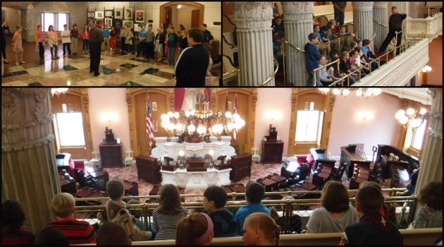 Central Students Visit The Ohio Statehouse