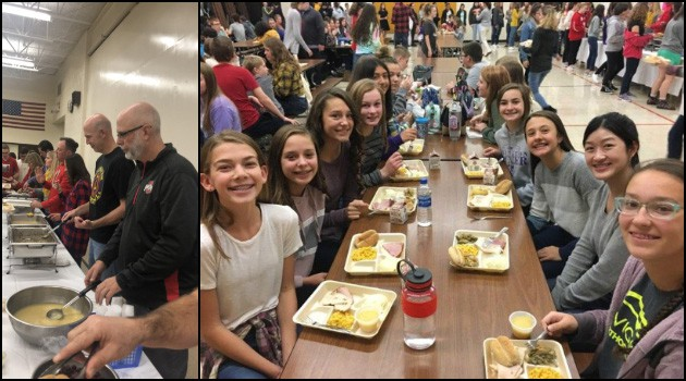 8th Grade Thanksgiving Feast
