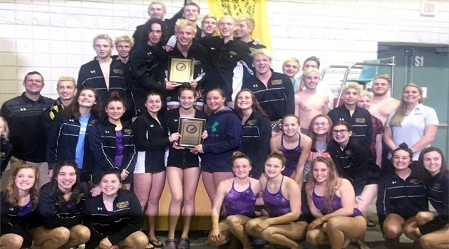 Swim and Dive Team OCC Champions