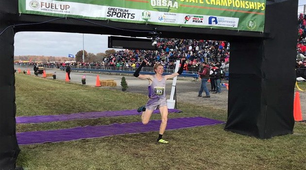 Lexington Senior Kyle J. - Division II OHSAA State Individual Cross Country Champion!