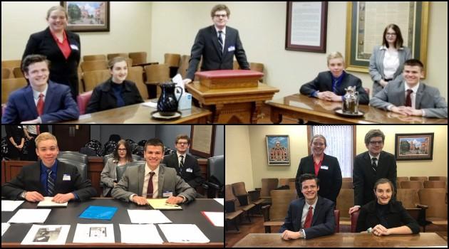 High School Mock Trial Team